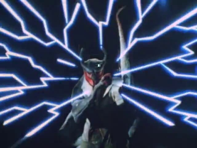 Kamen Rider Season 1 :Episode 38  Lightning Monster Eiking's World Darkness Plan