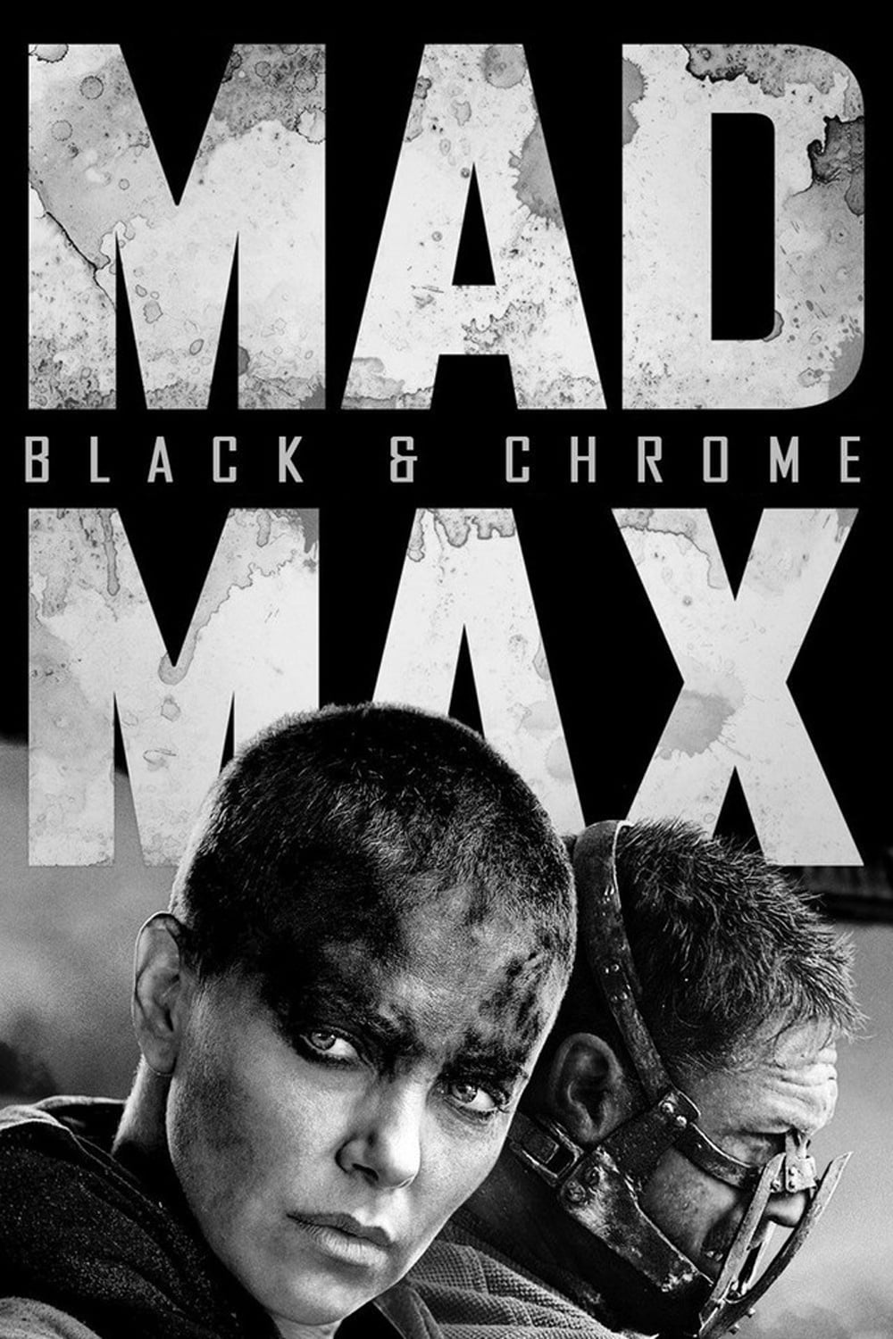 Póster Mad Max: Fury Road Black & Chrome