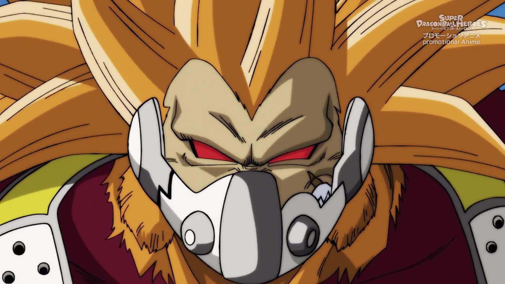 Super Dragon Ball Heroes Season 1 :Episode 4  Rage! Super Fu Appears!
