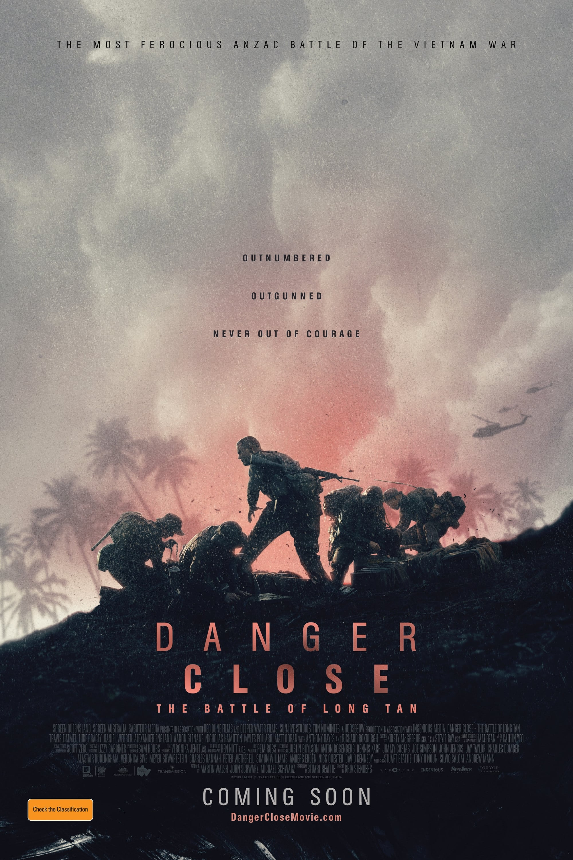 Poster and image movie Film Danger Close: The Battle of Long Tan 2019