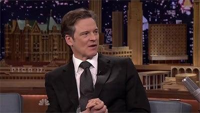 The Tonight Show Starring Jimmy Fallon Season 1 :Episode 36  Colin Firth, Chloë Grace Moretz, Nas featuring Q-Tip, John Oates