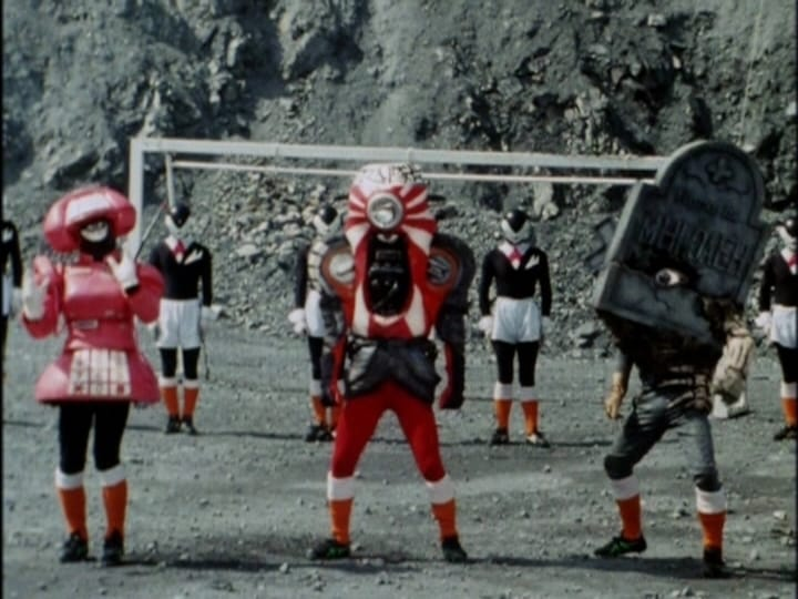 Super Sentai Season 17 :Episode 15  The 3 Stooges' Soccer