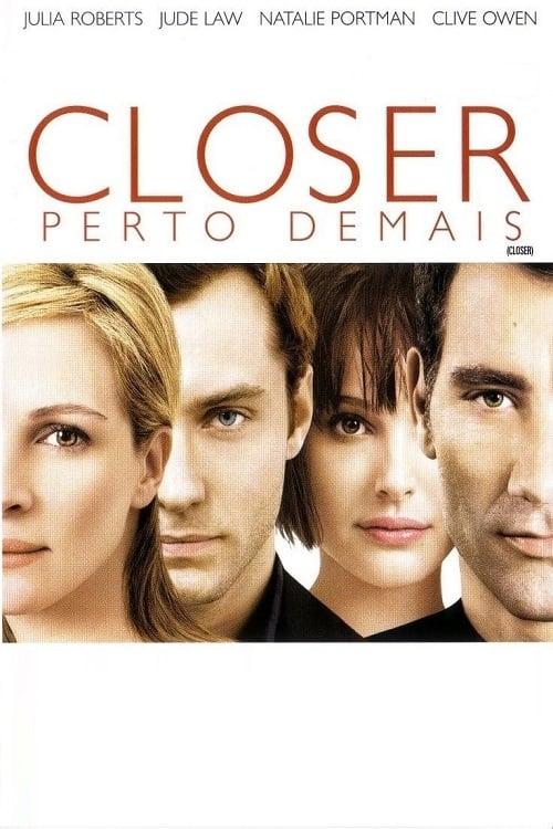 capa Closer: Perto Demais
