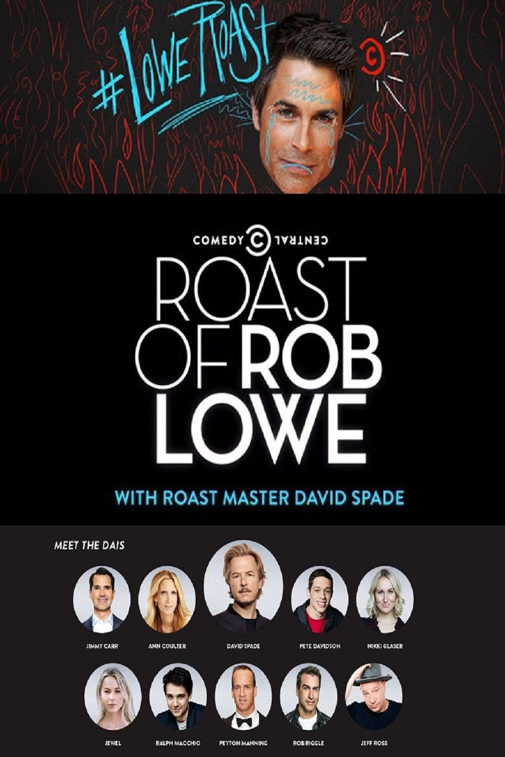 Ver Comedy Central Roast of Rob Lowe Online HD Español (2016)