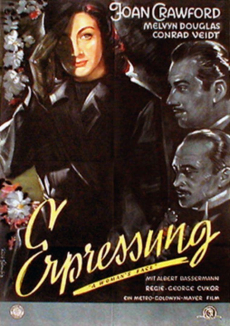 Die Frau Mit Der Narbe 1941 Posters The Movie Database