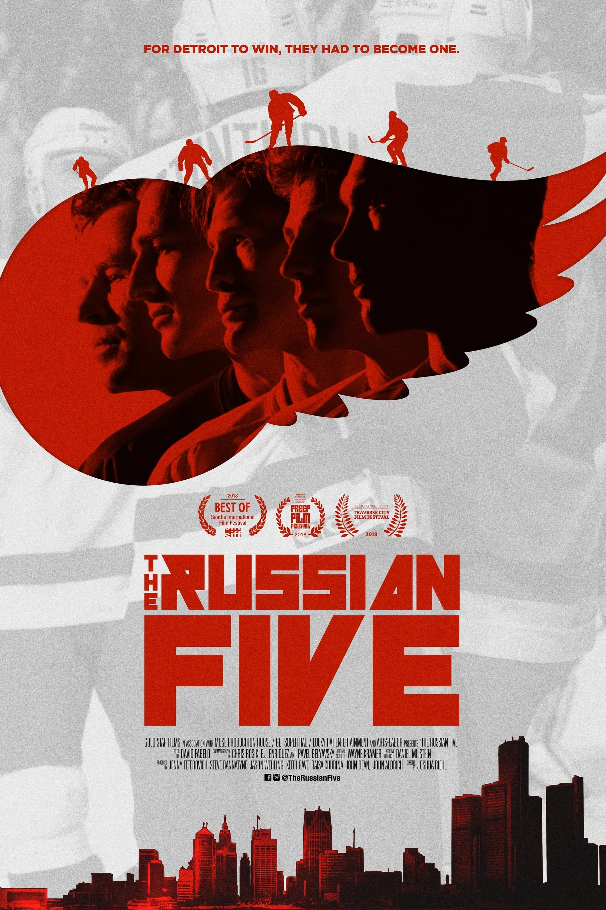 The Russian Five on FREECABLE TV