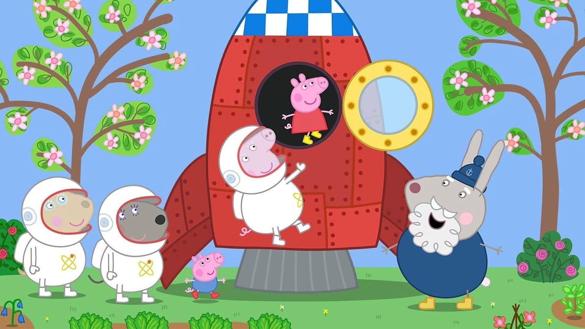Peppa Pig Season 6 :Episode 41  Space Adventure!