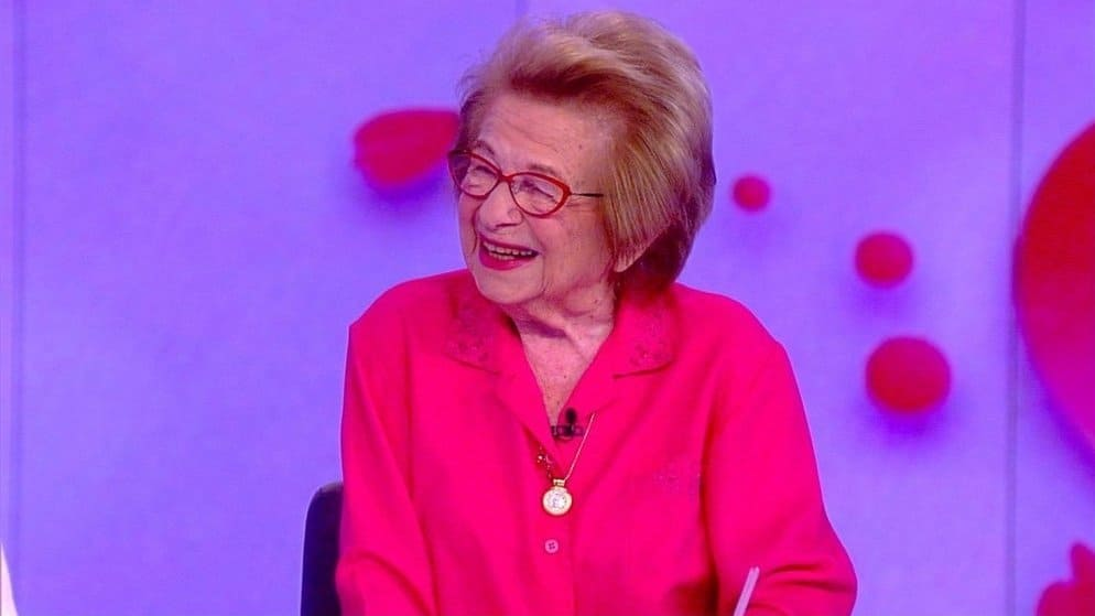 The View Season 22 :Episode 102  Dr Ruth Westheimer
