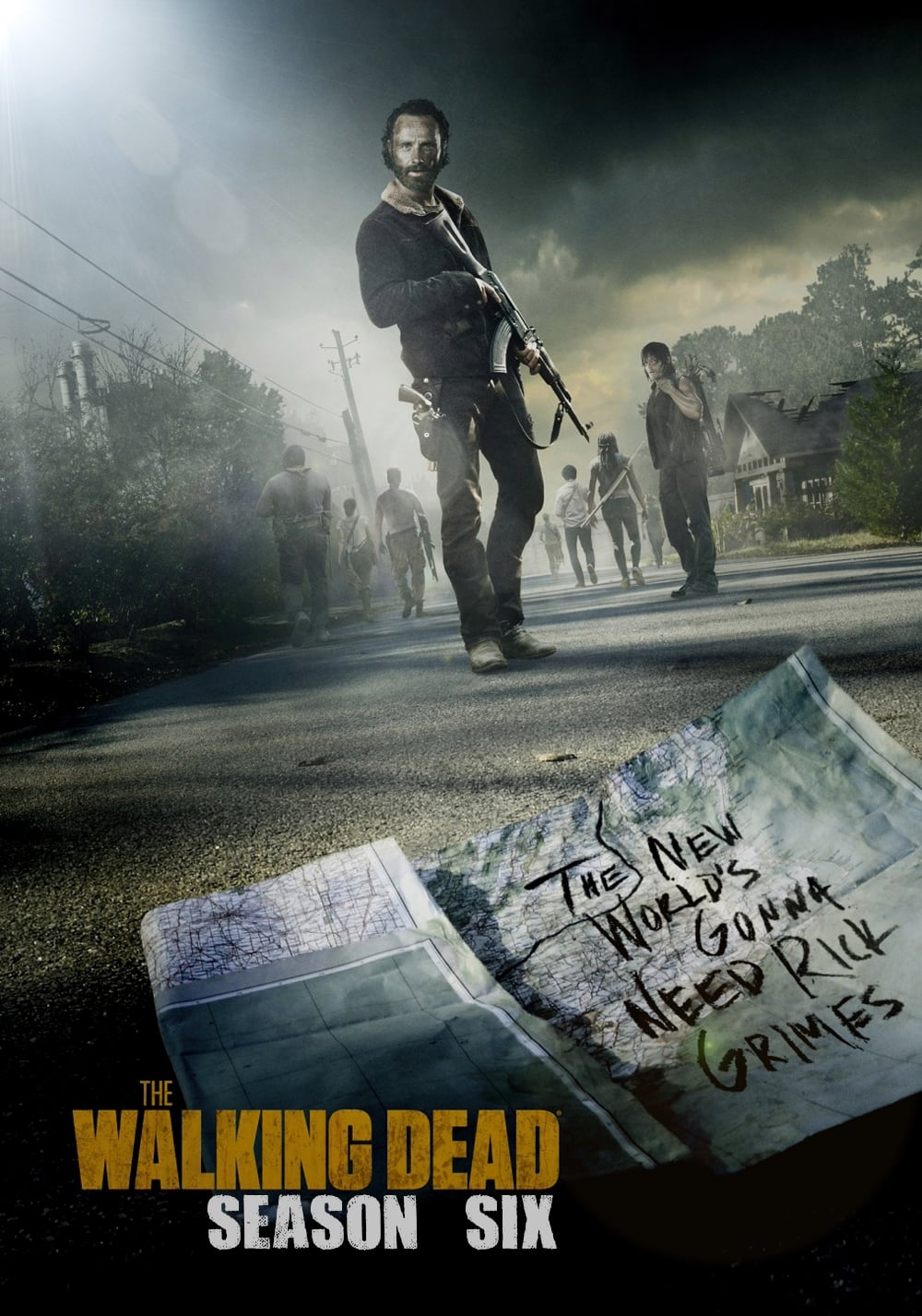 Guarda The walking dead Stagione 6 Streaming HD Streaming