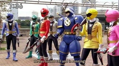 Super Sentai Season 35 :Episode 46  Qualified to Be a Hero
