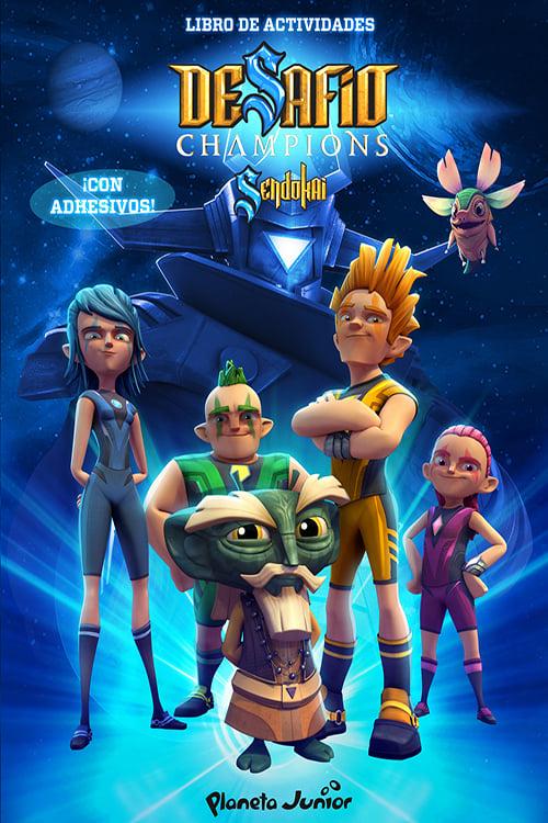 Desafío Champions Sendokai TV Shows About Supernatural Power