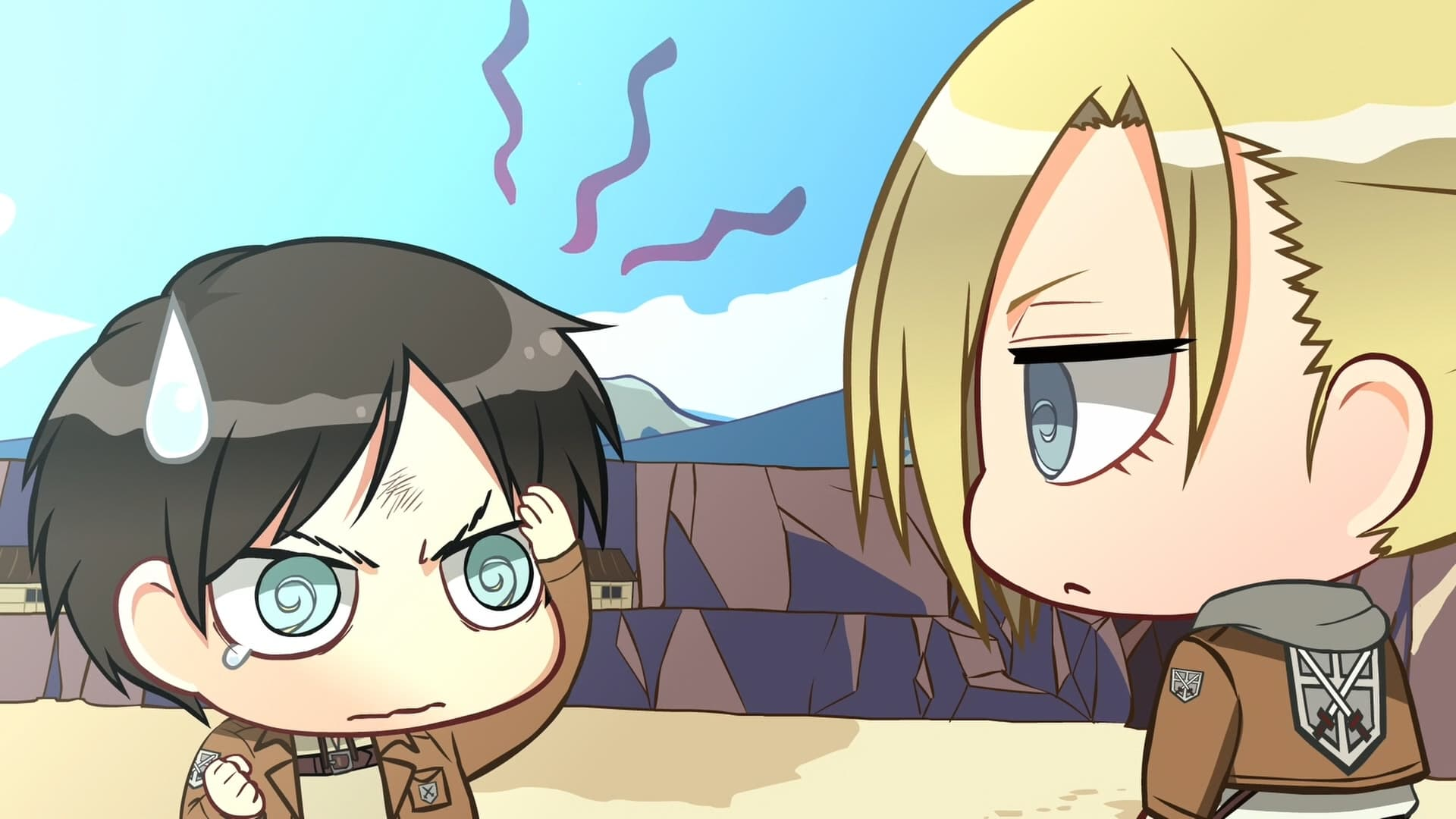 Attack on Titan Season 0 :Episode 6  Chibi Theater: Fly, Cadets, Fly!: Day 11 / Day 12 / Day 13