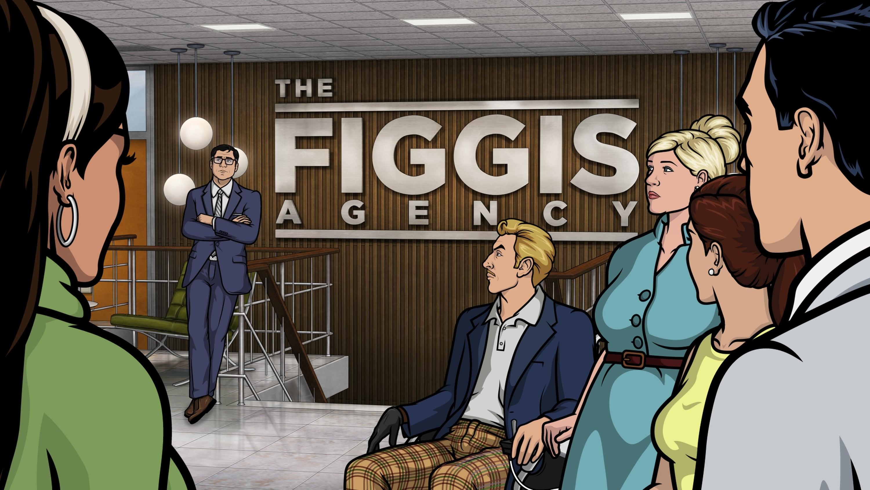 Archer Season 7 :Episode 1  The Figgis Agency