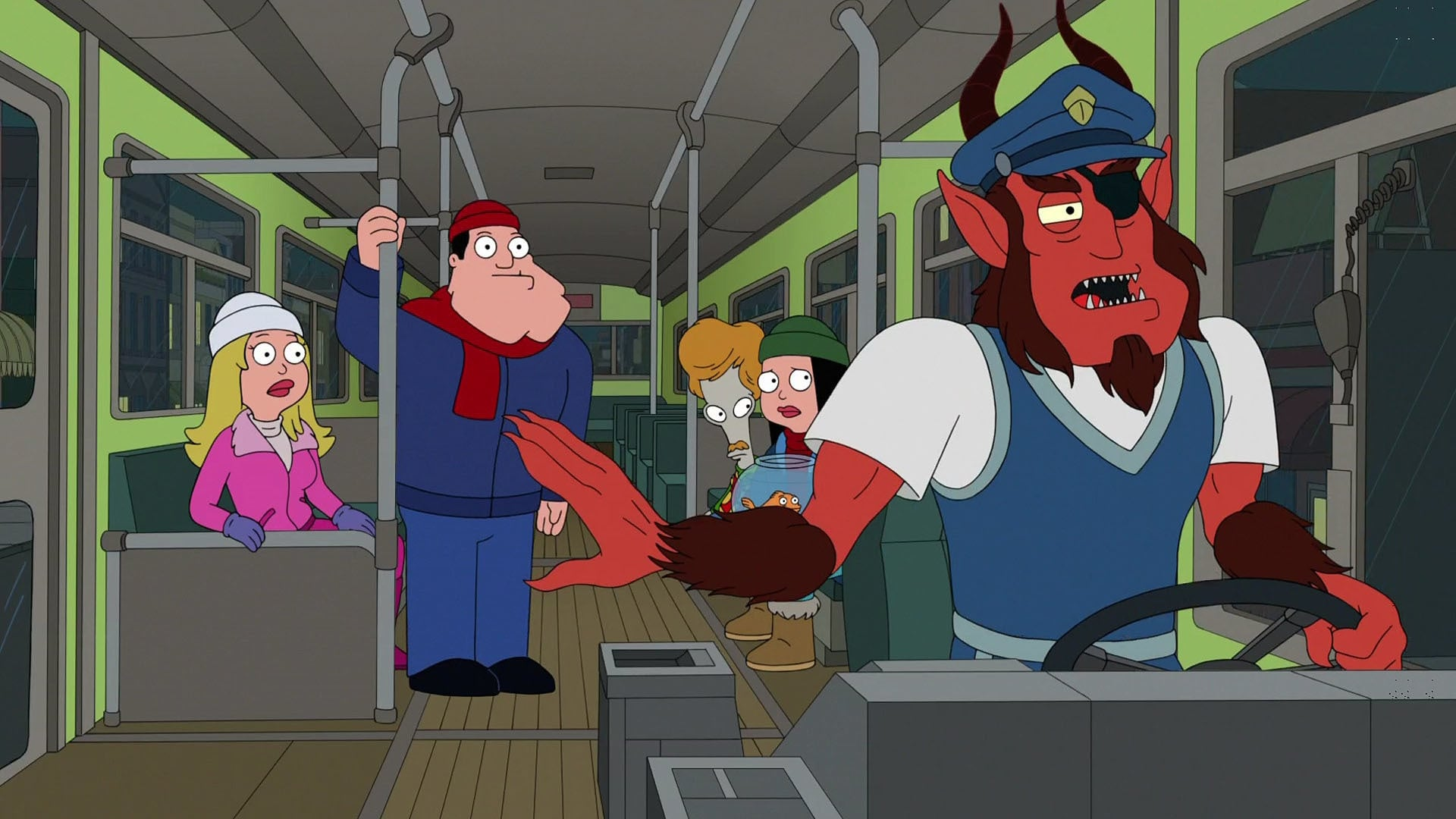 American Dad! Season 14 :Episode 7  Ninety North, Zero West