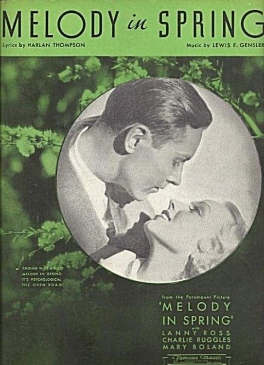 Ver Melody in Spring Online HD Español (1934)