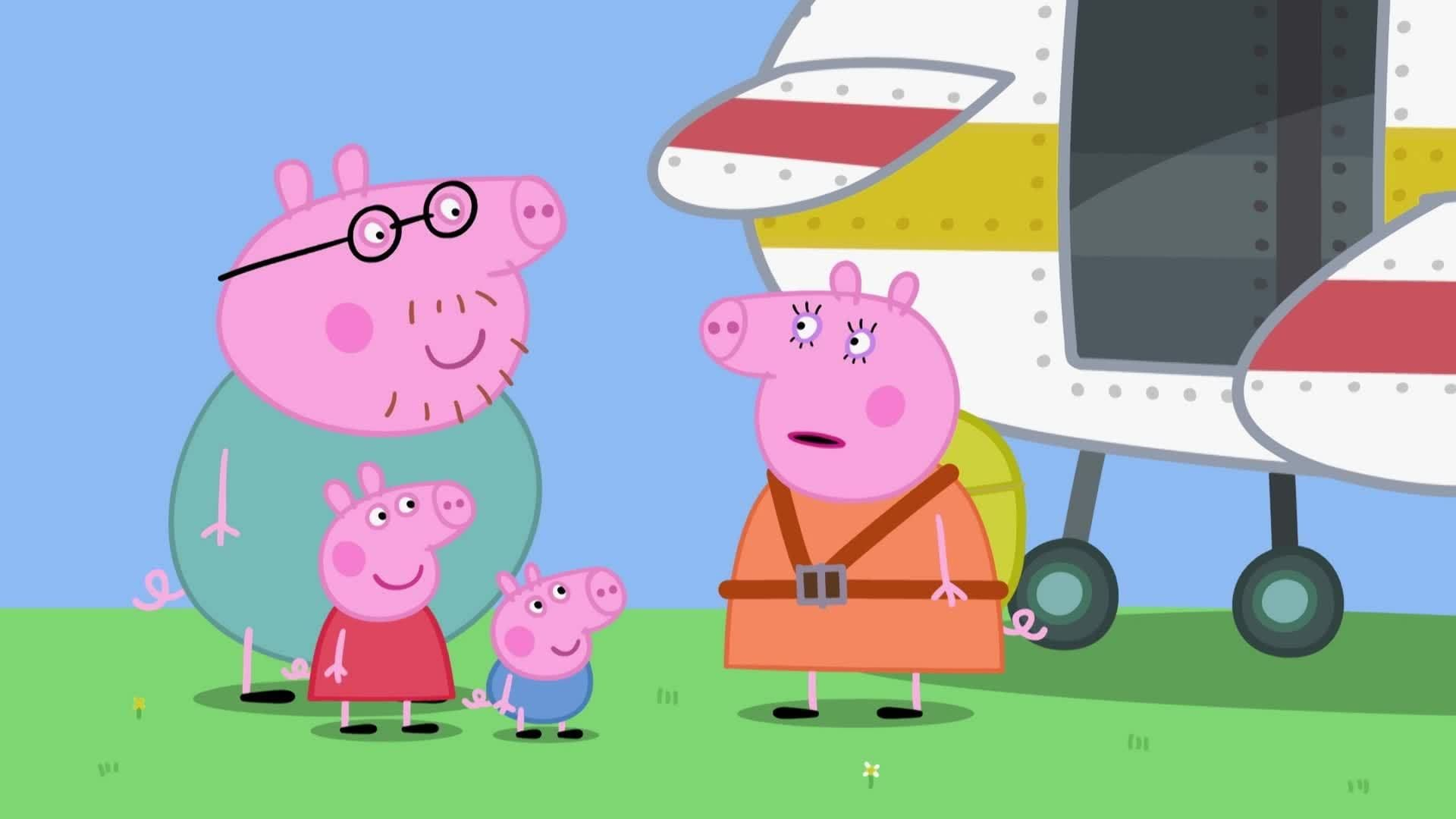Peppa Pig Season 5 :Episode 7  Parachute Jump