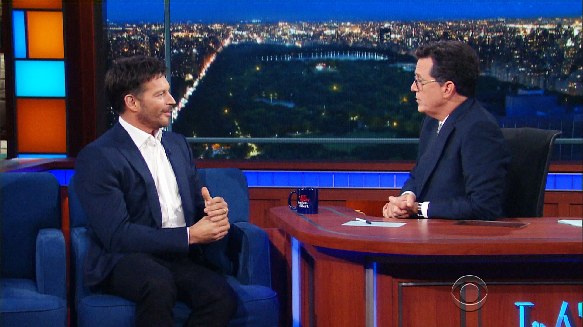 The Late Show with Stephen Colbert Season 2 :Episode 1  Harry Connick Jr., Ava DuVernay, Grouplove