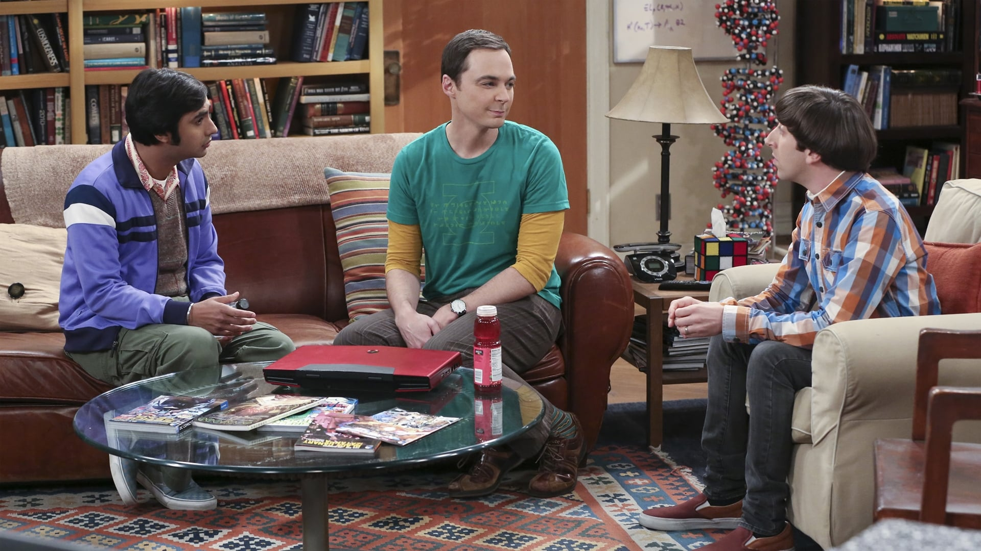 The Big Bang Theory Season 9 :Episode 8  The Mystery Date Observation