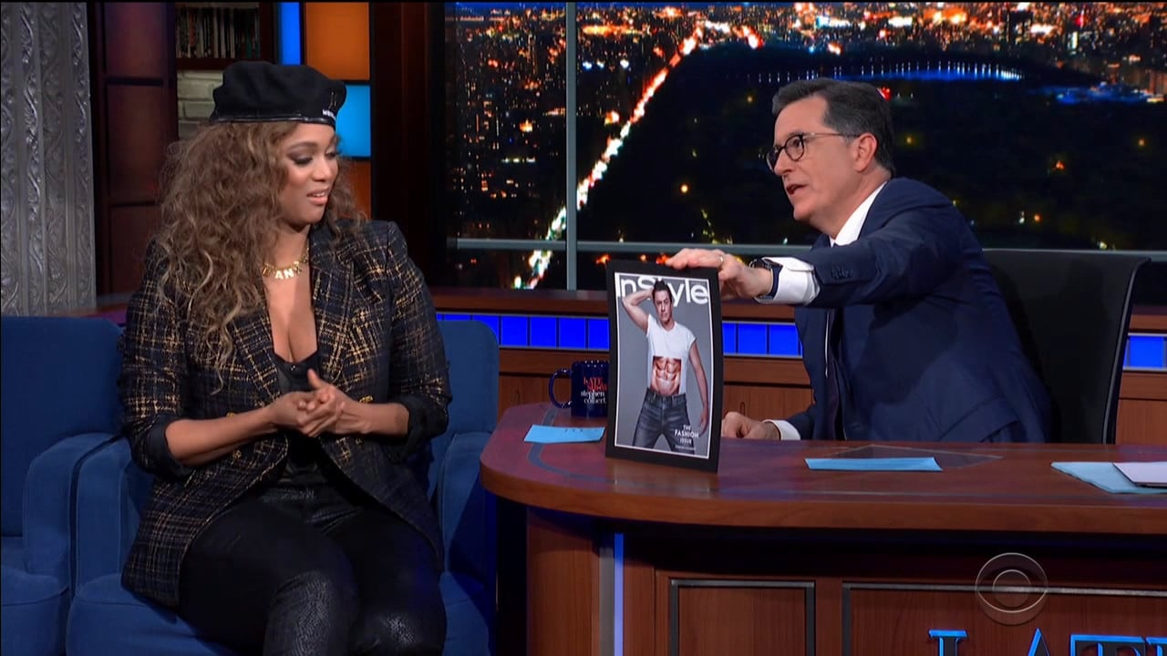 The Late Show with Stephen Colbert Season 5 :Episode 95  Tyra Banks / Coyote Peterson