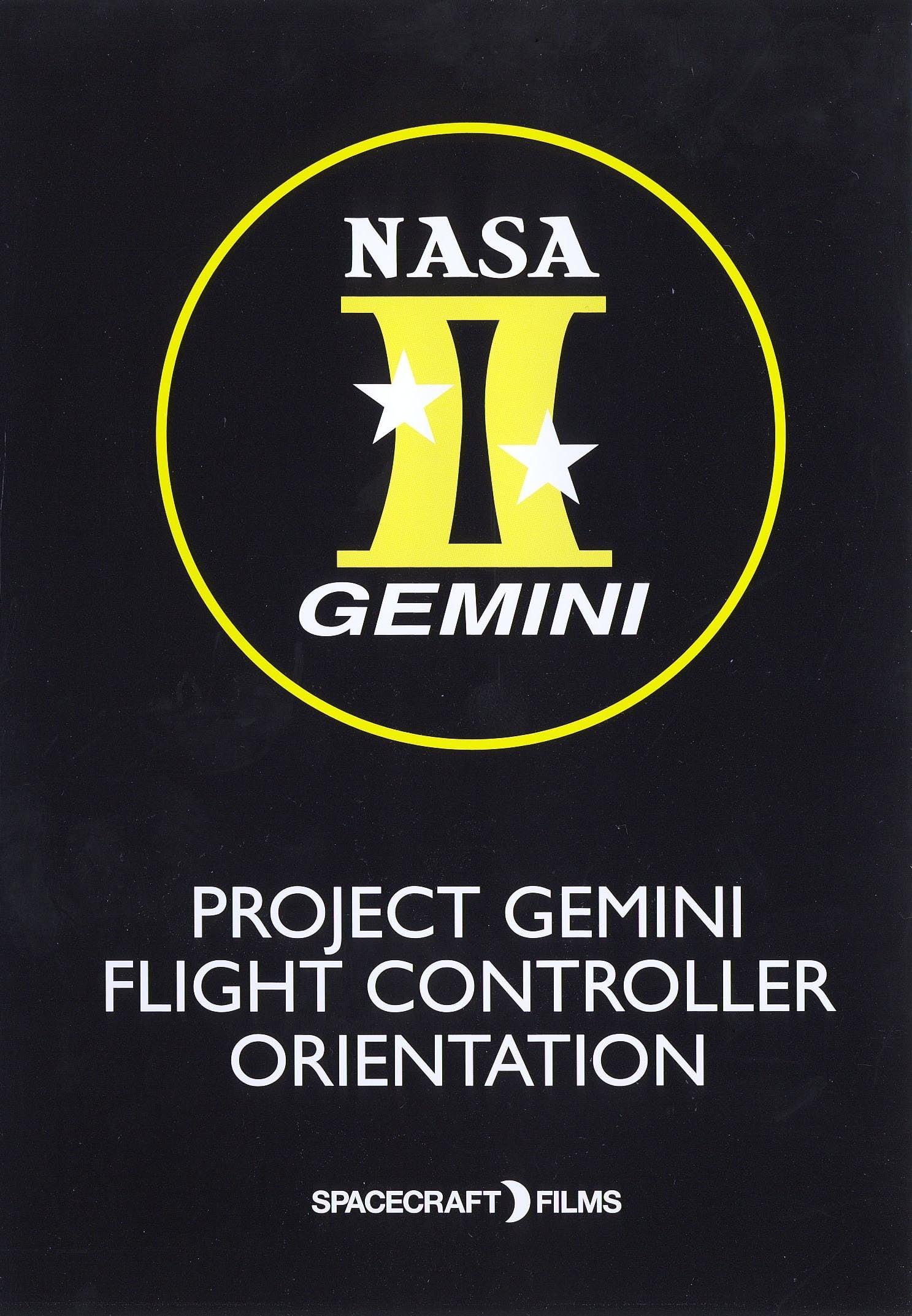 Project Gemini: Flight Controller Orientation (2009)