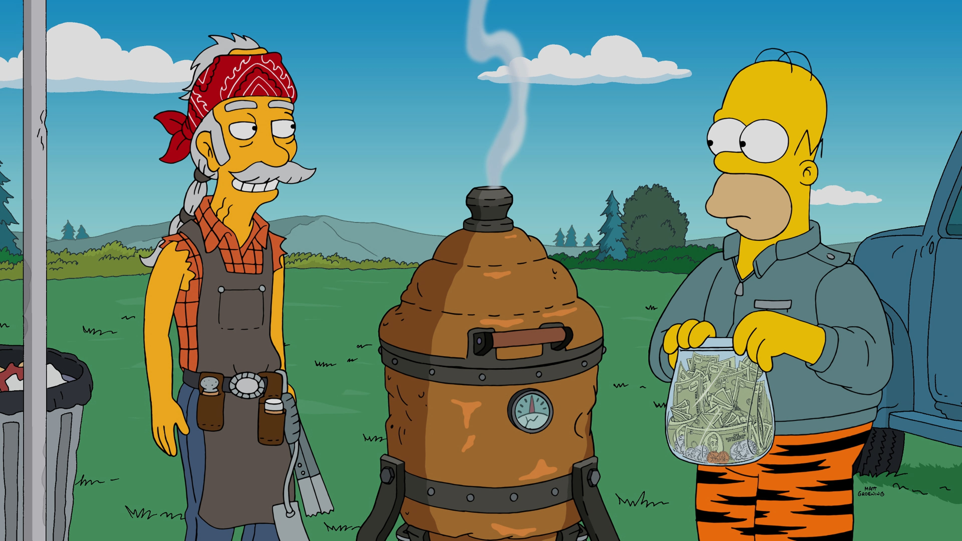 The Simpsons Season 27 :Episode 2  Cue Detective