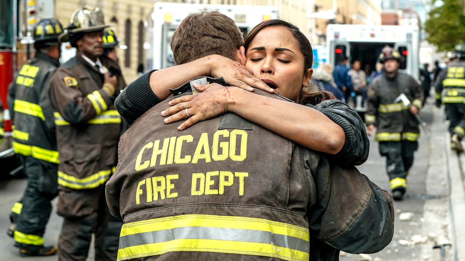 Chicago Fire Season 6 :Episode 4  Eingeschlossen