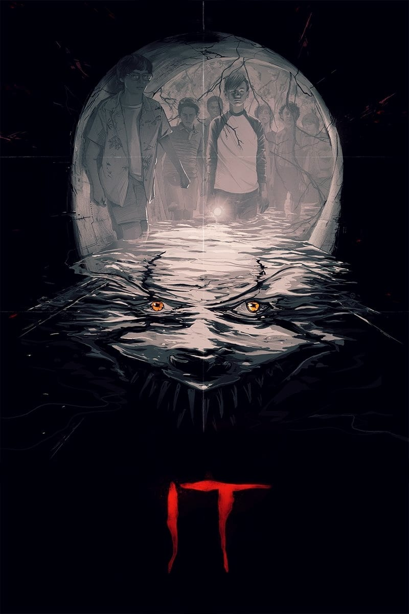 Poster and image movie Film Orasul bantuit - It (2017) - It - It (2017/I) -  2017