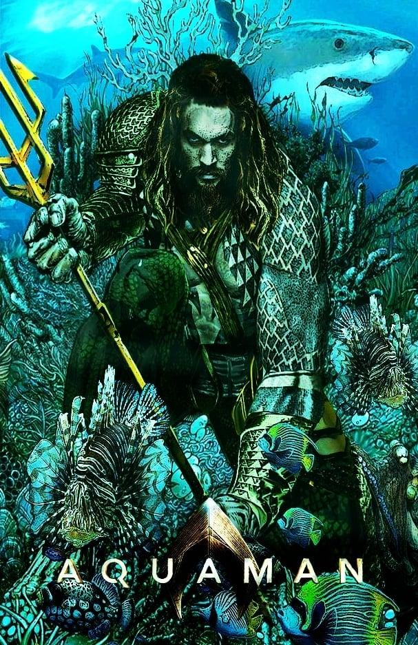 Aquaman (2018) - Posters — The Movie Database (TMDb)