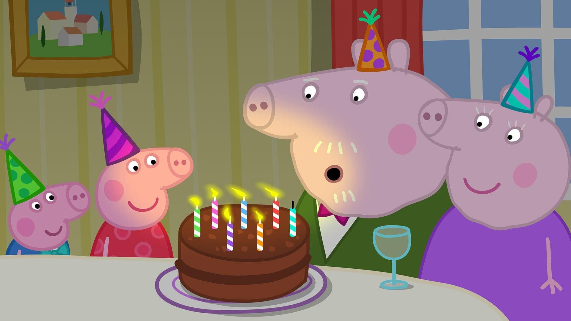 Peppa Pig Season 6 :Episode 17  Grandpa Pig's birthday