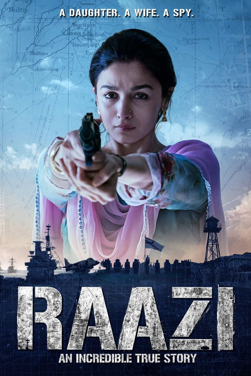 Raazi Full HD Hindi Movie 2018 Download Here