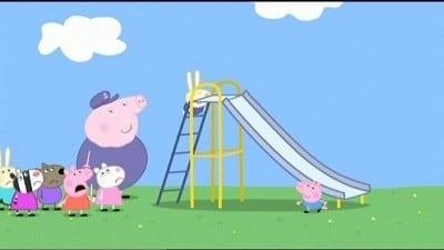Peppa Pig Season 3 :Episode 22  Grandpa At The Playground