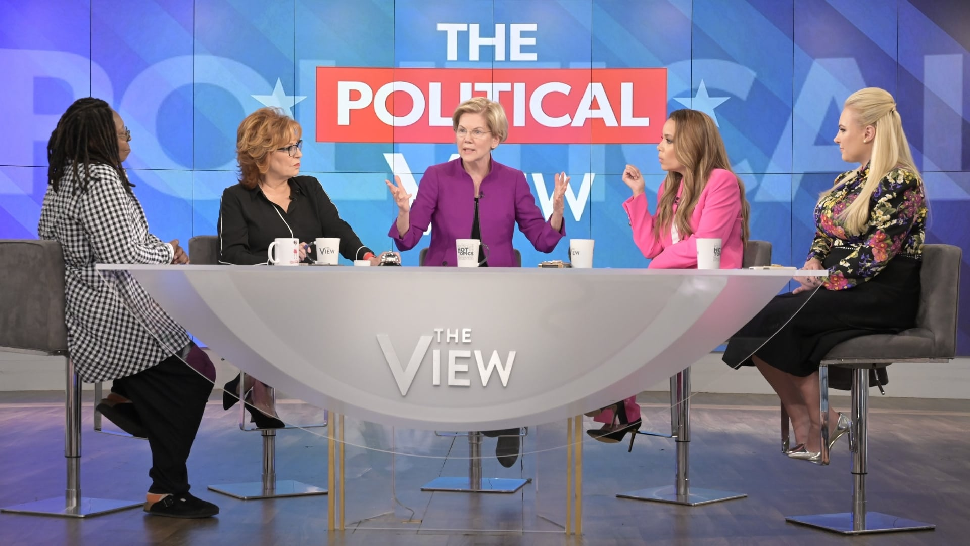 The View Season 22 :Episode 168  Elizabeth Warren