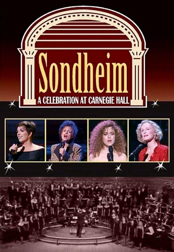 Sondheim: A Celebration at Carnegie Hall poster