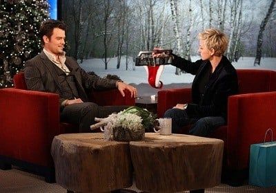 The Ellen DeGeneres Show Season 9 :Episode 59  Day #3 of 12 Days of Giveaways - Josh Duhamel, Laura Dern