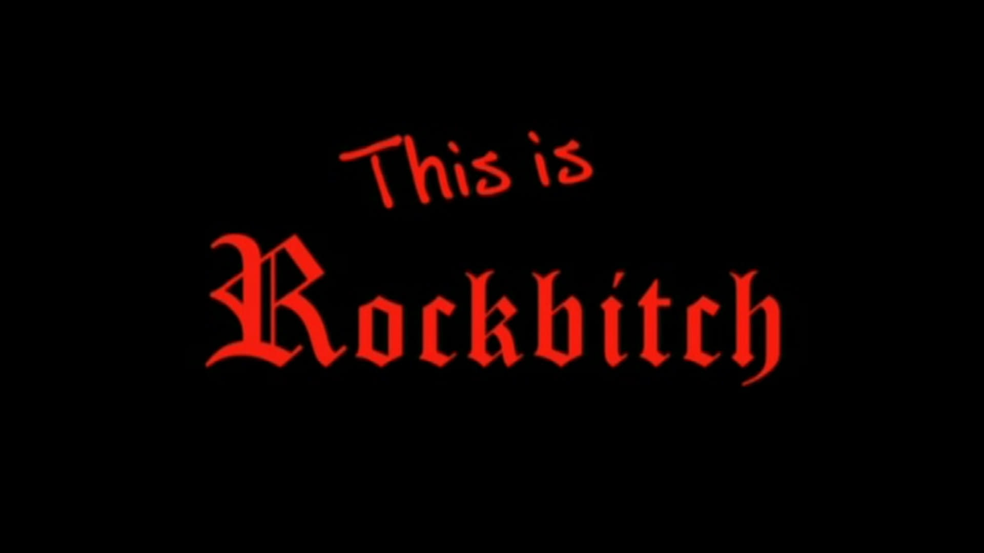 This Is Rockbitch