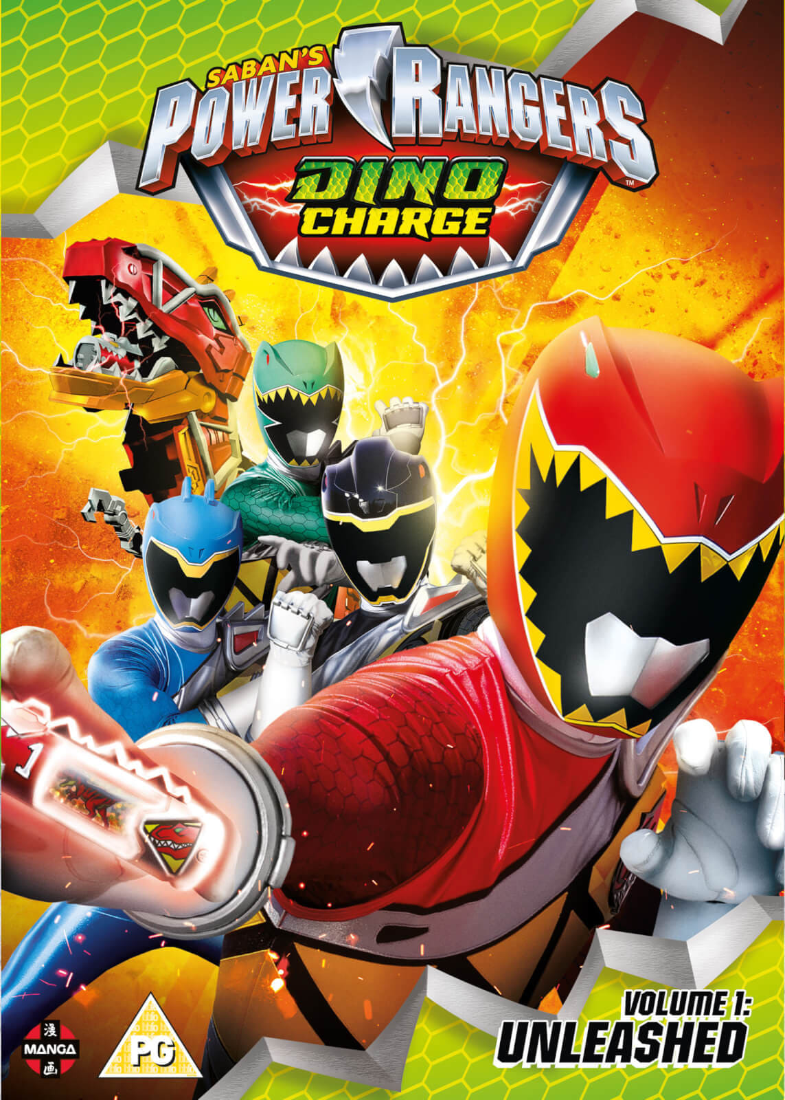 Power Rangers: Dino Charge (2015)