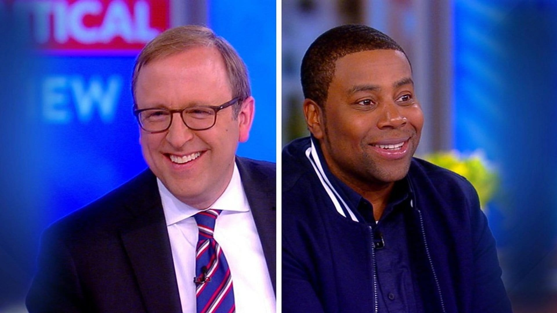 The View Season 22 :Episode 45  Jonathan Karl and Kenan Thompson