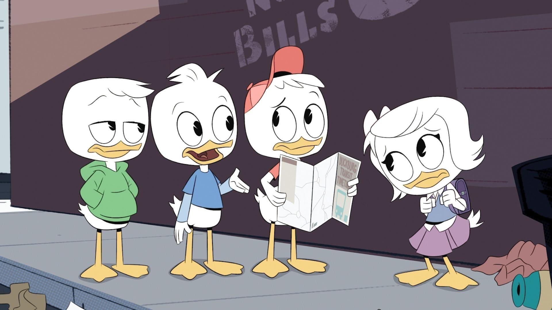 DuckTales Season 1 :Episode 2  Daytrip of Doom!