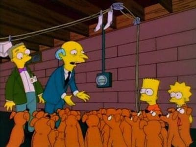 The Simpsons Season 6 :Episode 20  Two Dozen and One Greyhounds