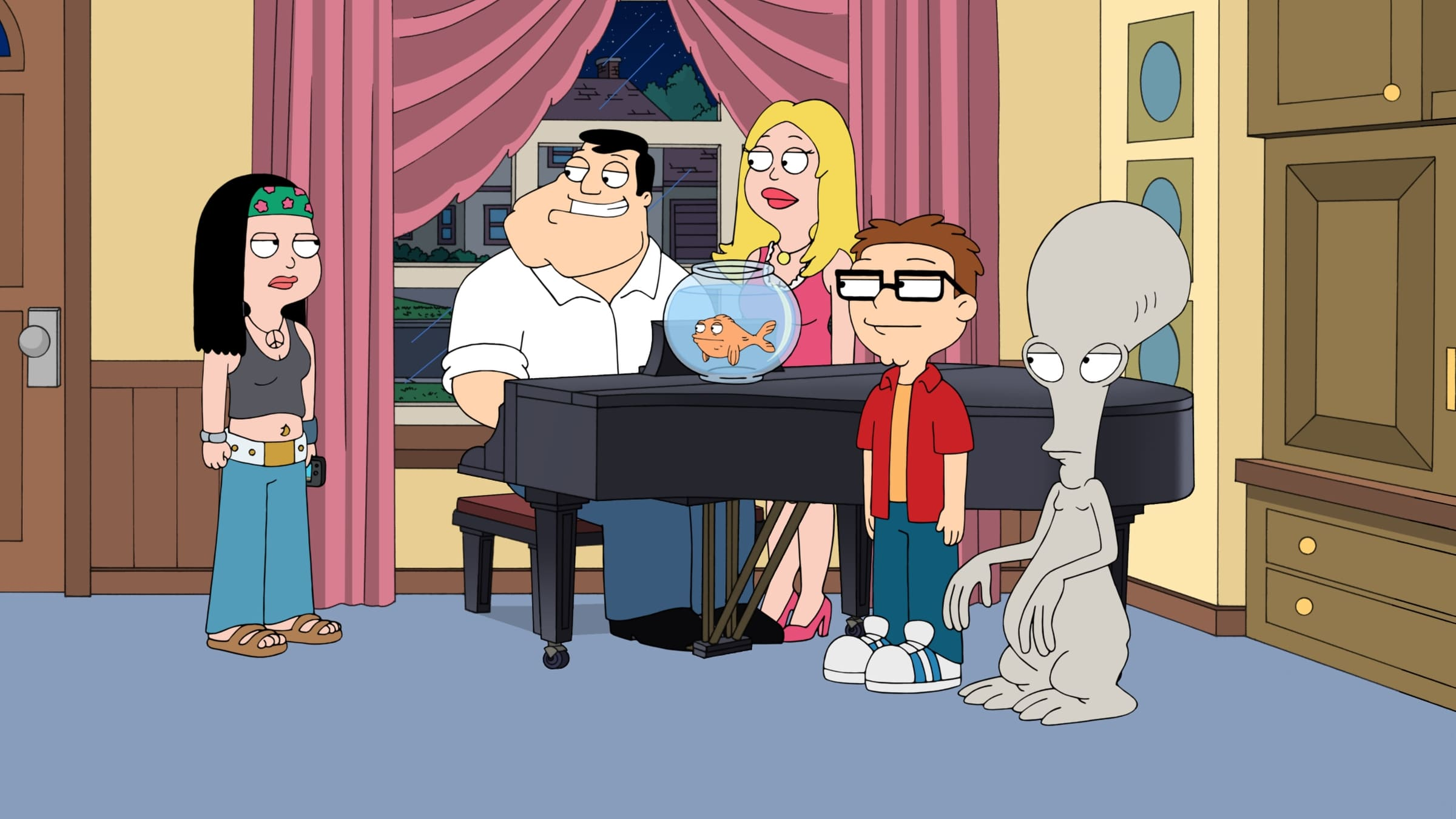 American Dad! Season 10 :Episode 15  Honey, I'm Homeland