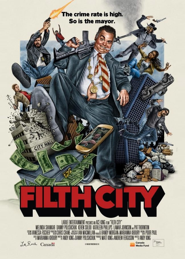Ver Filth City Online HD Español (2016)