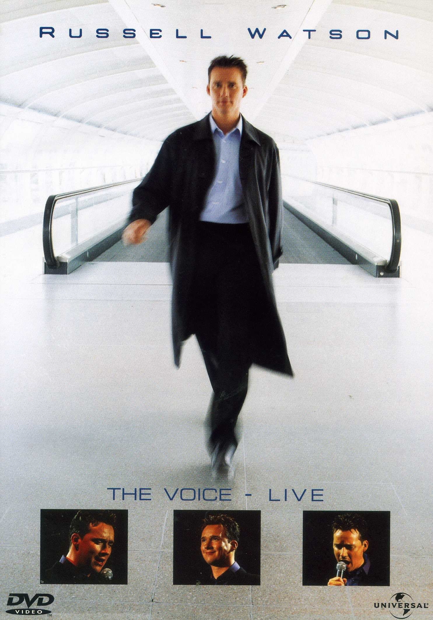 Russell Watson. The Voice Live 2001 (1970)