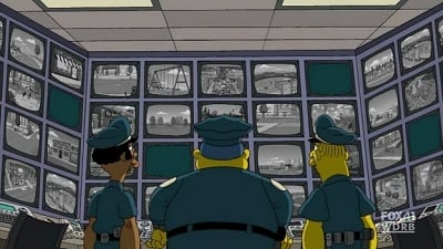 The Simpsons Season 21 :Episode 20  To Surveil with Love