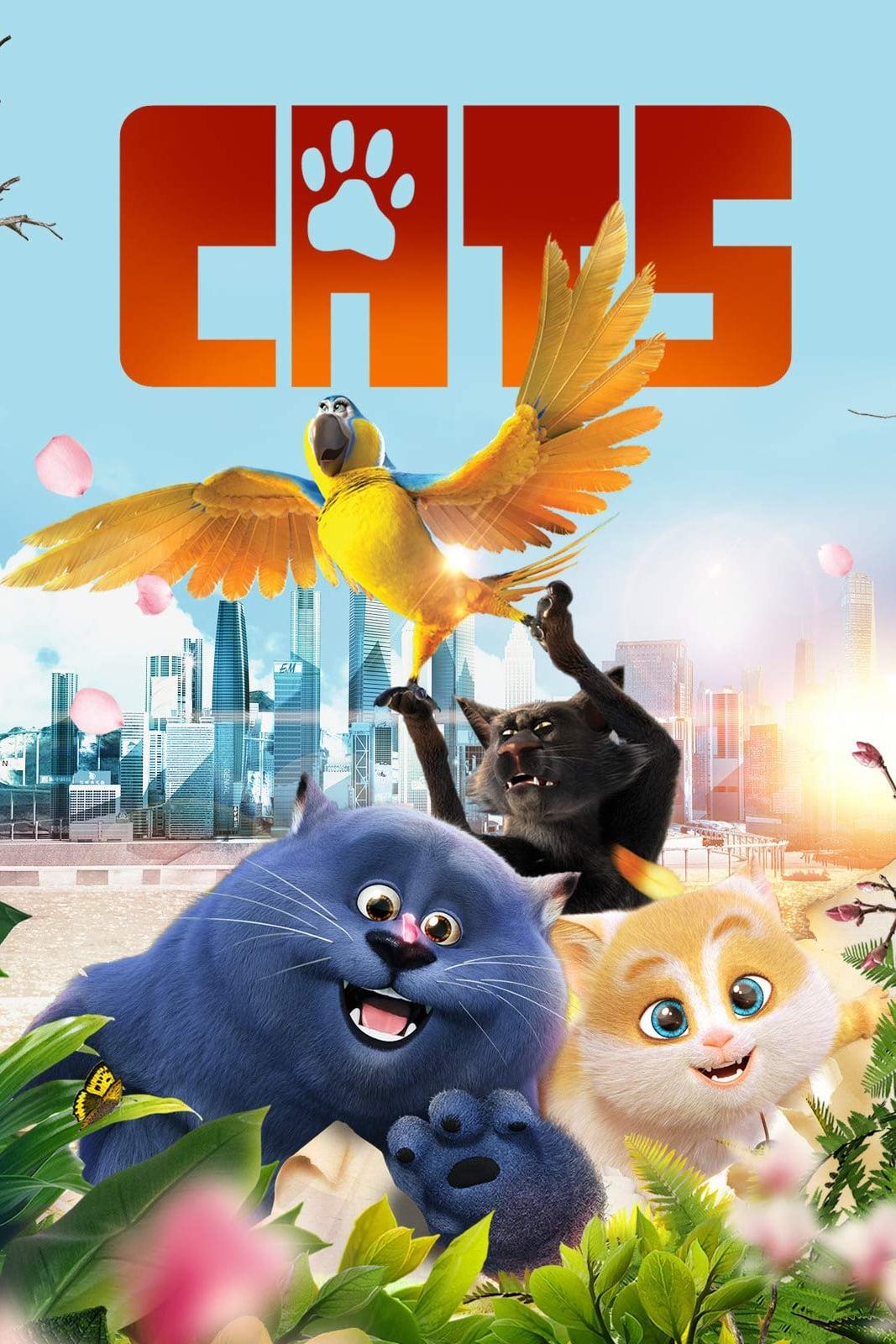 Xem Phim Mèo Mập Đi Phượt - Cats and Peachtopia Full Vietsub | Thuyết Minh HD Online