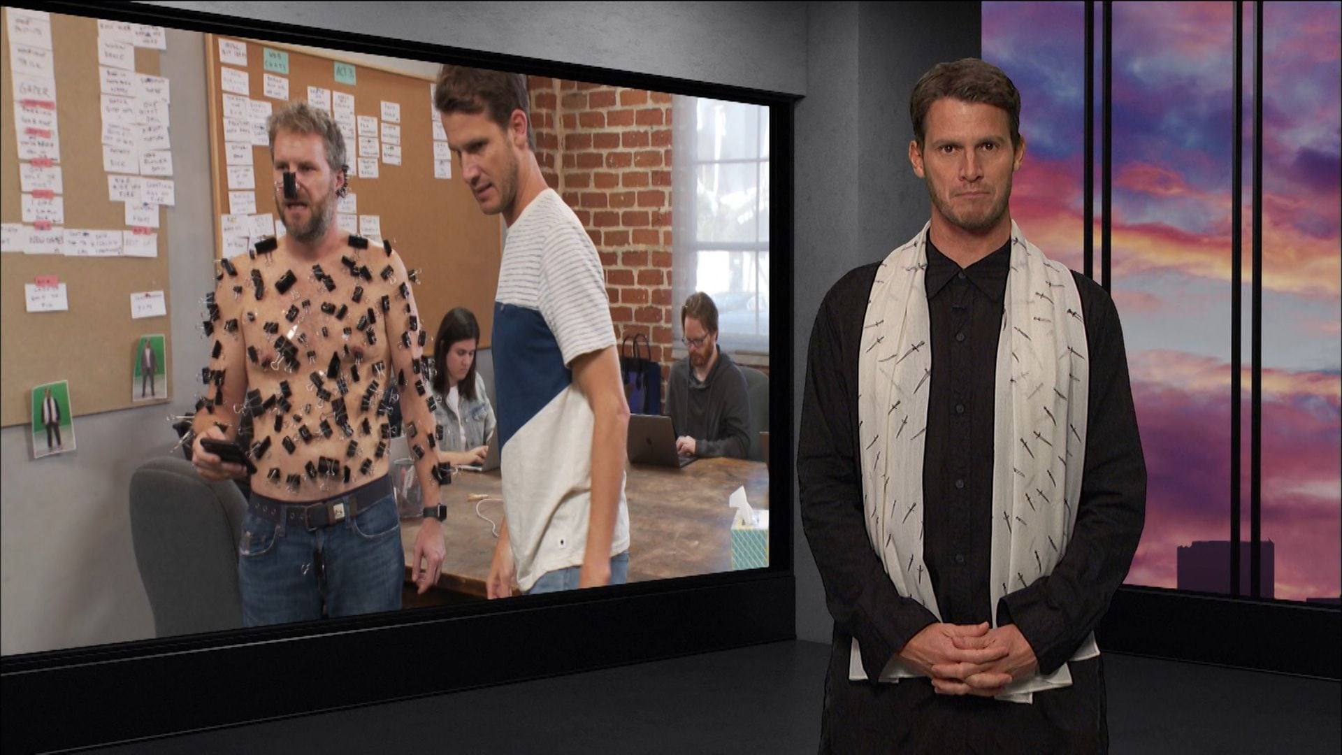Tosh.0 Season 10 :Episode 19  One Hole or Two?