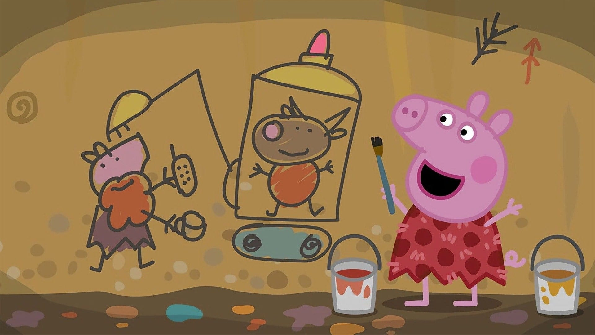 Peppa Pig Season 6 :Episode 40  Stone Age Granny