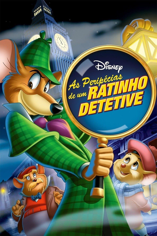 As Peripécias de um Ratinho Detetive Dublado