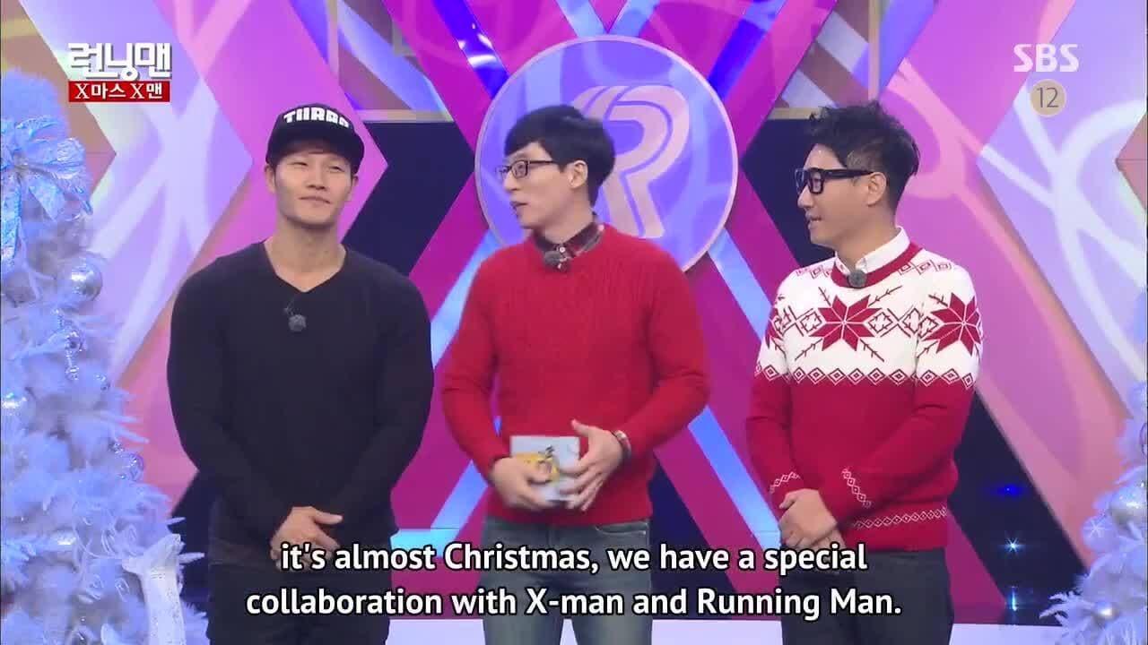 Running Man Season 1 :Episode 278  X-Man Collaboration Special (1)