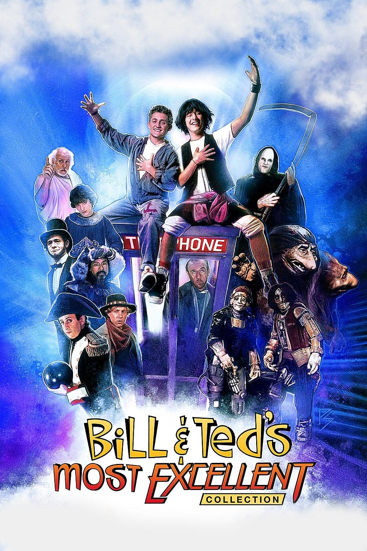 Bill & Ted 1 y 2 (1989-1991) 1080p Latino [Keanu Reeves]
