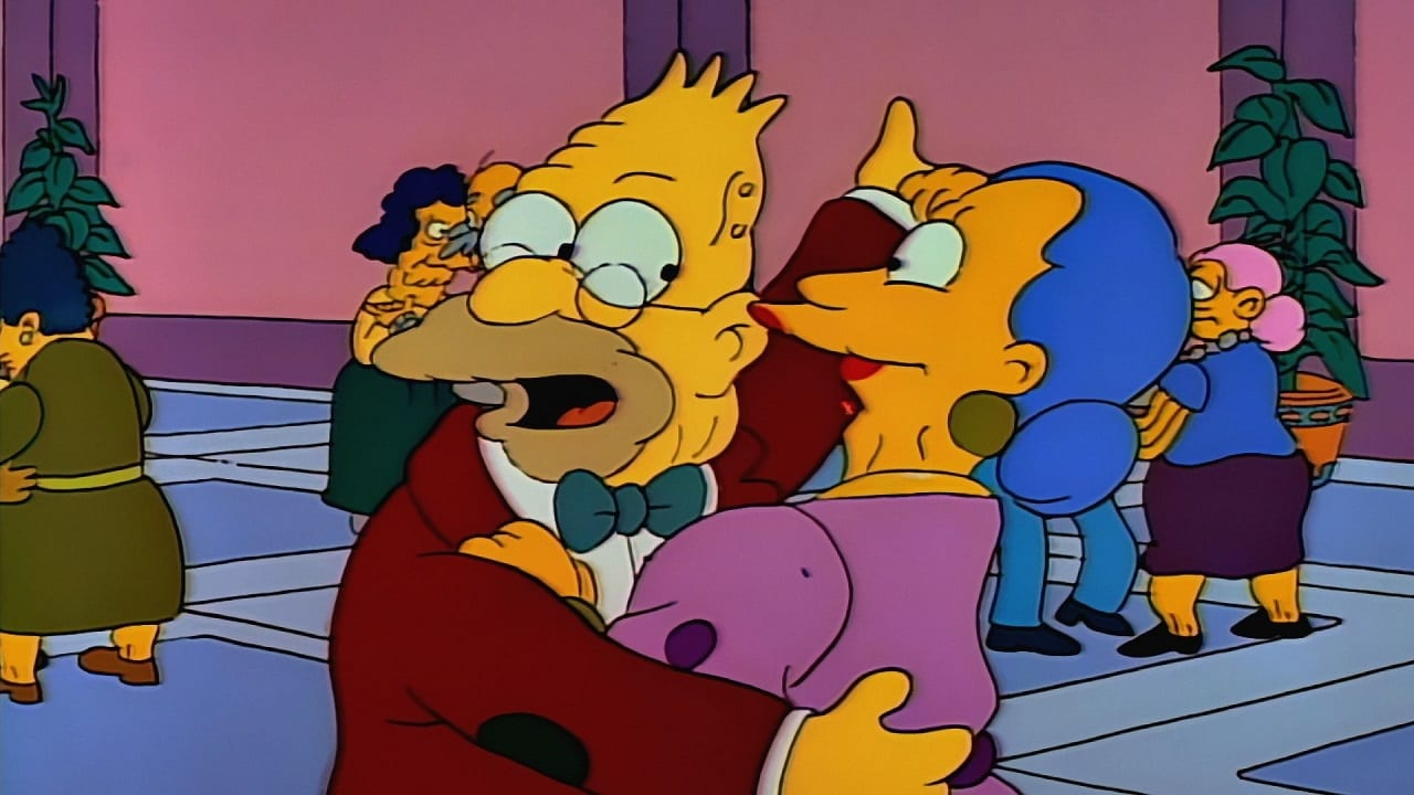 The Simpsons Season 2 :Episode 17  Old Money